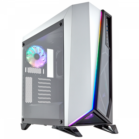 Carcasa Carbide Series OMEGA RGB Mid-Tower Tempered Glass Alba1