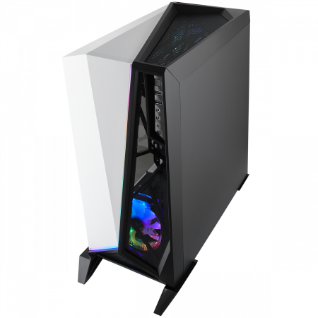 Carcasa Carbide Series OMEGA RGB Mid-Tower Tempered Glass Alba2