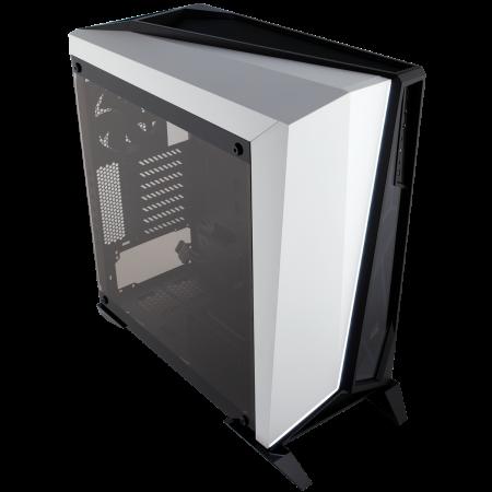 Carcasa Carbide Series OMEGA Tempered Glass - Alb/Negru [0]