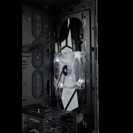 Carcasa Carbide Series OMEGA Tempered Glass - Alb/Negru [11]