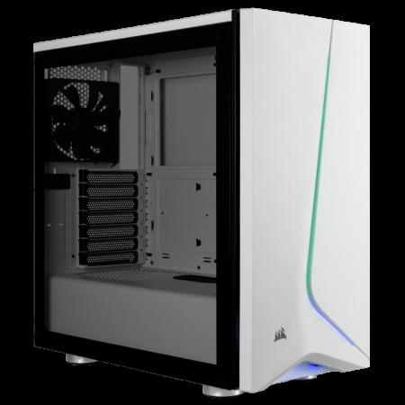 Carcasa Carbide SPEC-06 RGB Tempered Glass Alba [0]