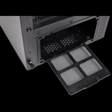 Carcasa Carbide SPEC-06 RGB Tempered Glass Neagra [13]