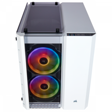 Carcasa Crystal Series 280X RGB Tempered Glass Micro ATX  — Alb6
