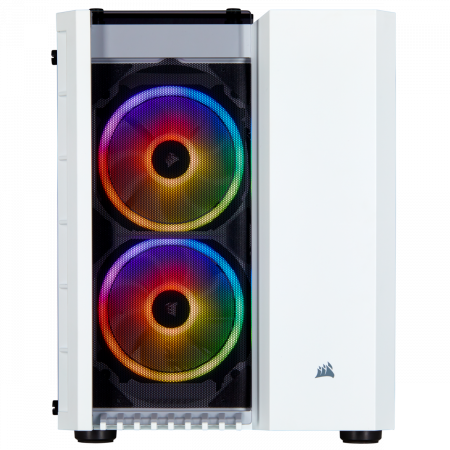 Carcasa Crystal Series 280X RGB Tempered Glass Micro ATX  — Alb1