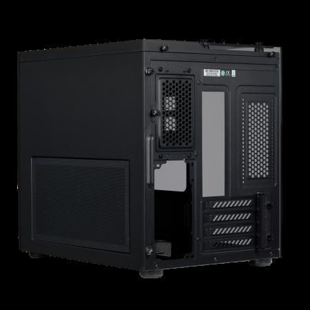 Carcasa Crystal Series 280X RGB Tempered Glass Micro ATX  — Negru [10]