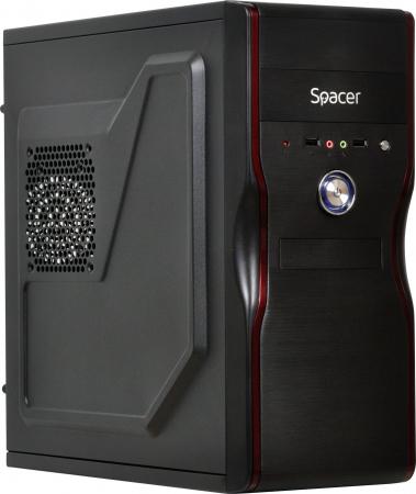 Carcasa Spacer Mercury cu sursa 450W neagra [0]