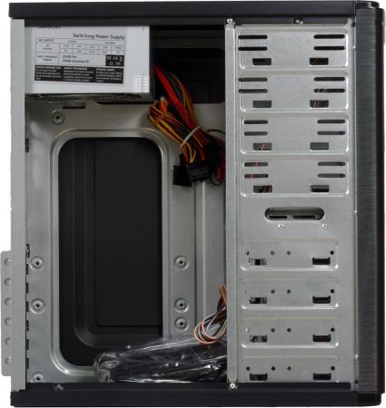 Carcasa Spacer Pirate cu sursa 500W neagra [6]