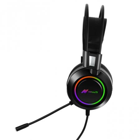 Casti gaming ABKONCORE B780 VIRTUAL 7.1, microfon, vibratii, USB, negru2