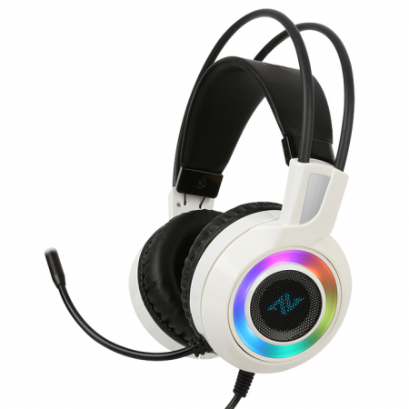 Casti gaming ABKONCORE CH60 Real 7.1, microfon, vibratii, USB, negru [2]