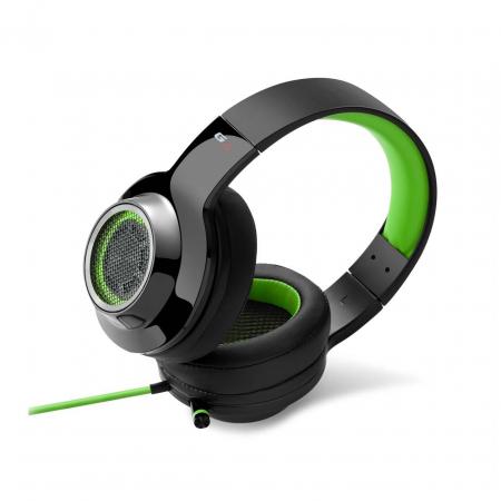 Casti gaming Edifier V4, black/green [1]