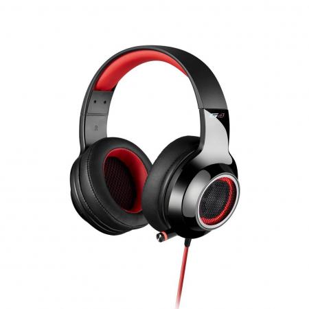 Casti gaming Edifier V4, black/red [0]