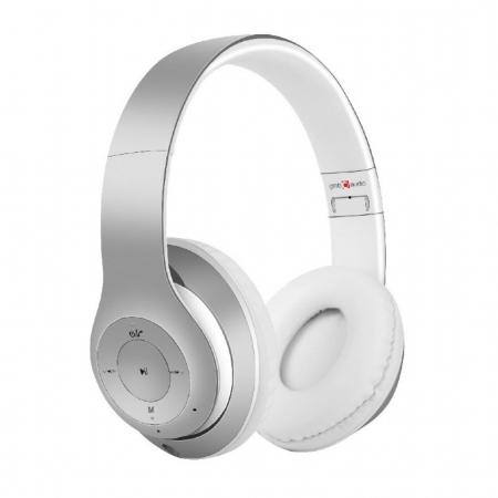 Casti Gembird Milano Silver-White [0]
