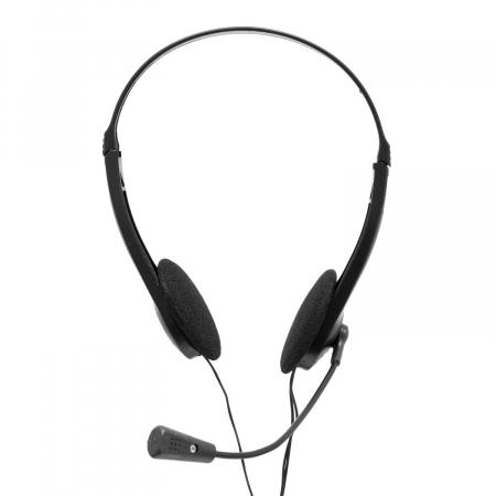 Casti Spacer Over-Head SPK-223 Black pentru Office/Call Center [3]