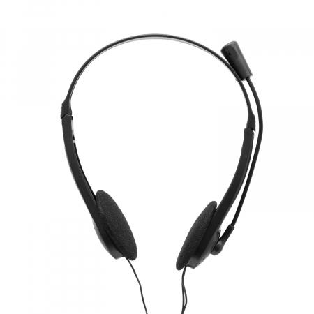 Casti Spacer Over-Head SPK-223 Black pentru Office/Call Center [2]