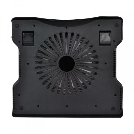 """Cooler Laptop Spacer SPNC-883 17"""", Negru [1]"""
