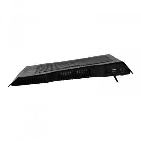 """Cooler Laptop Spacer SPNC-883 17"""", Negru [3]"""
