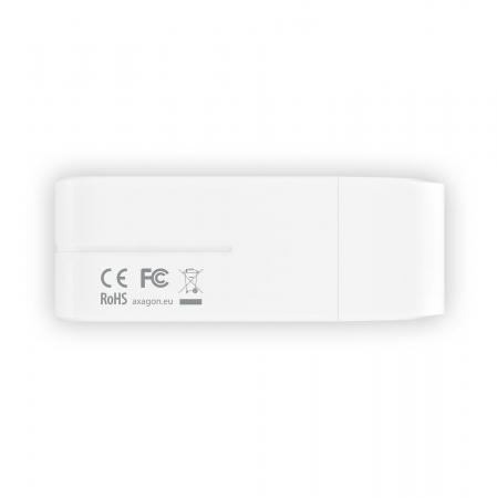External HANDY Card Reader 4-slot SD/MicroSD/MS/M2, White [11]