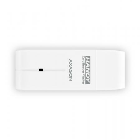 External HANDY Card Reader 4-slot SD/MicroSD/MS/M2, White [3]