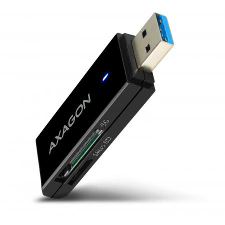 External USB 3.0, 2-slot SD/microSD [11]