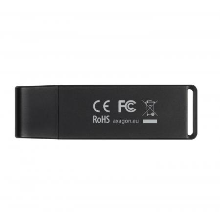 External USB 3.0, 2-slot SD/microSD [17]