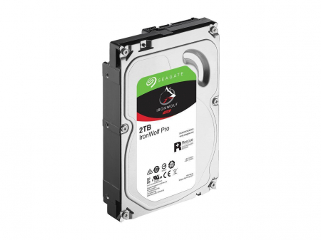 HDD Seagate Ironwolf Pro 2TB, 7200RPM, 128MB cache, SATAIII [2]