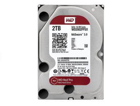 HDD Western Digital  Red Pro rev2, 2TB, 7200rpm, 64MB cache, SATA III [1]