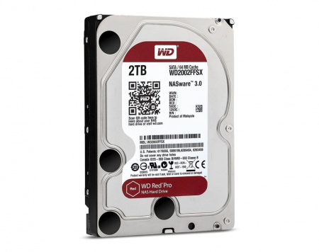 HDD Western Digital  Red Pro rev2, 2TB, 7200rpm, 64MB cache, SATA III [0]