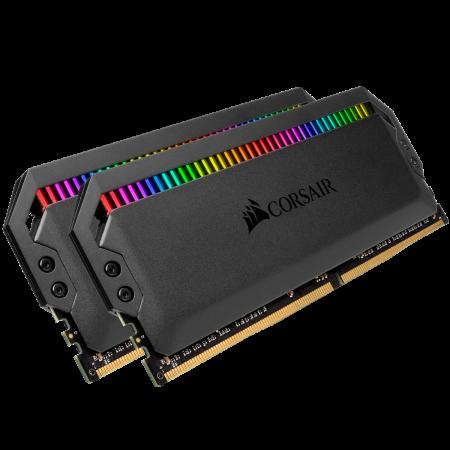 Memorie Corsair Dominator Platinum RGB, 32GB (2 x 16GB), DDR4, 3200MHz, C16 [2]