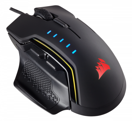 Mouse Corsair GLAIVE gaming RGB LED, 16000 DPI3