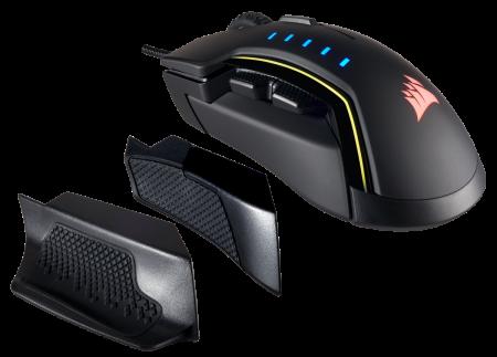 Mouse Corsair GLAIVE gaming RGB LED, 16000 DPI0