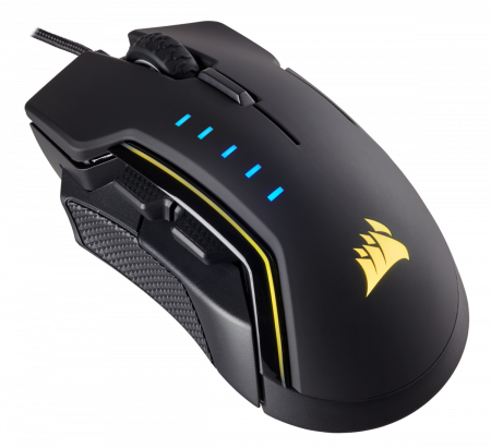 Mouse Corsair GLAIVE gaming RGB LED, 16000 DPI2