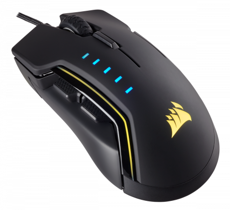 Mouse Corsair GLAIVE gaming RGB LED, 16000 DPI1