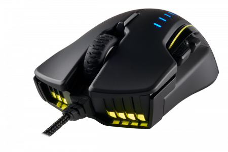Mouse Corsair GLAIVE gaming RGB LED, 16000 DPI4