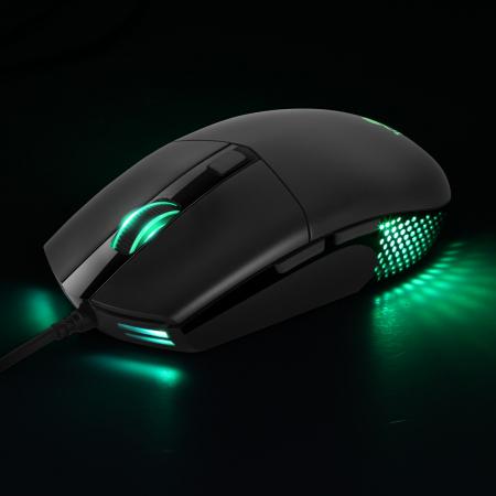 Mouse gaming ABKONCORE A660, 10000DPI, RGB, negru [1]