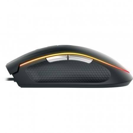 Mouse gaming Gamdias Zeus E2 ilumanare RGB negru + Nyx E1 [19]