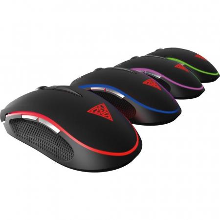 Mouse gaming Gamdias Zeus E2 ilumanare RGB negru + Nyx E1 [23]