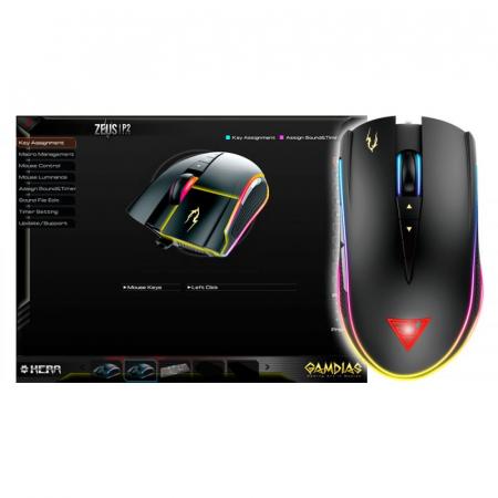 Mouse gaming Gamdias Zeus P2 iluminare RGB [3]