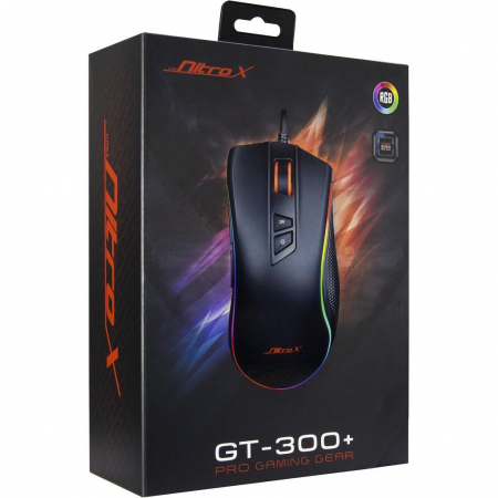 Mouse gaming GT-300+ negru iluminare RGB [6]