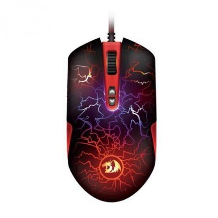 Mouse gaming Redragon Lavawolf2 negru iluminare RGB [0]