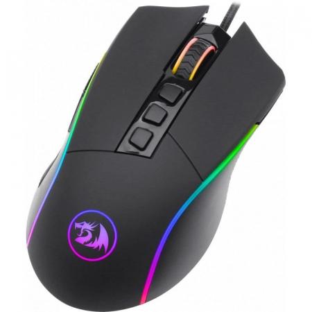 Mouse gaming Redragon Lonewolf 2 negru iluminare RGB [1]