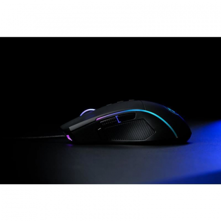 Mouse gaming Redragon Lonewolf 2 negru iluminare RGB [2]