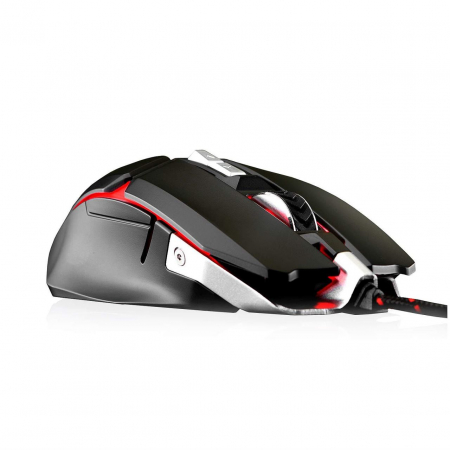 Mouse gaming Riotoro Aurox negru iluminare RGB [2]
