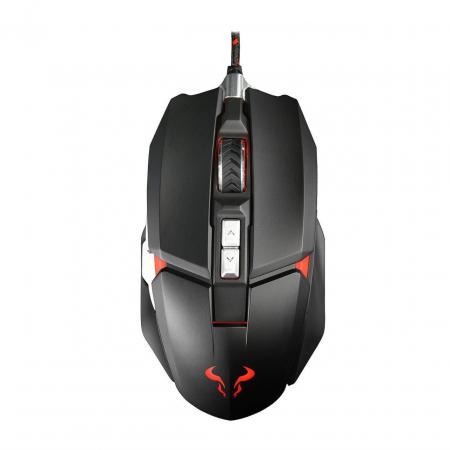 Mouse gaming Riotoro Aurox negru iluminare RGB [3]