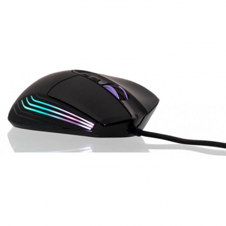 Mouse gaming Riotoro Nadix negru iluminare RGB [2]