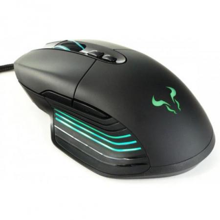 Mouse gaming Riotoro Nadix negru iluminare RGB [0]