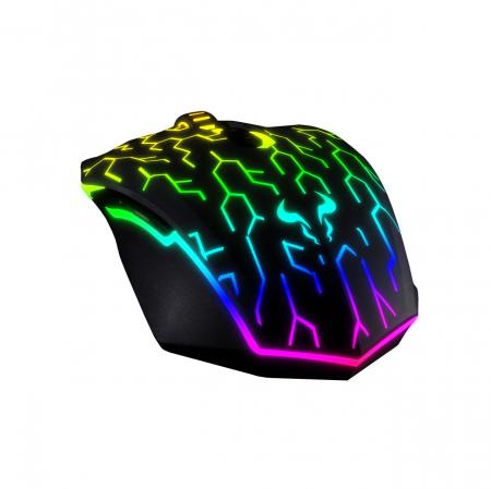 Mouse gaming Riotoro Uruz Z5 Lightning iluminare RGB negru [6]