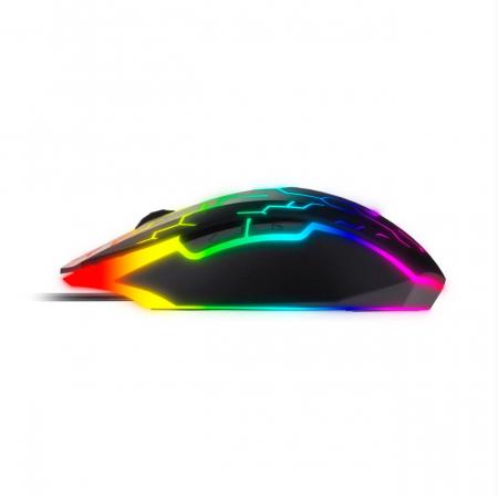 Mouse gaming Riotoro Uruz Z5 Lightning iluminare RGB negru [3]