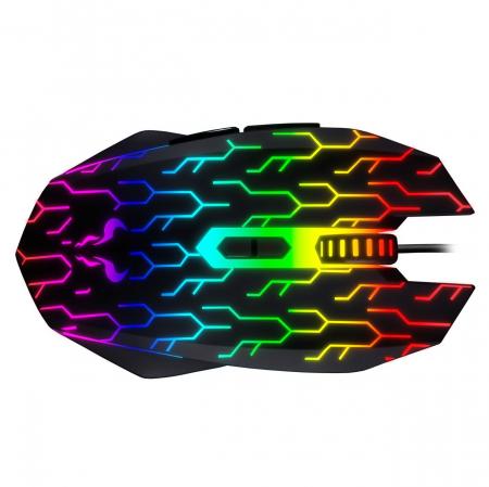 Mouse gaming Riotoro Uruz Z5 Lightning iluminare RGB negru [5]