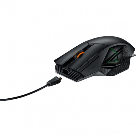 Mouse gaming wireless si cu fir Asus ROG Spahta negru [5]