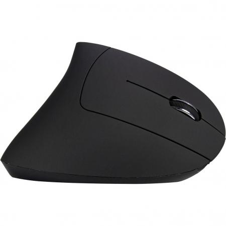 Mouse vertical wireless Inter-Tech Eterno KM-206R negru pentru dreptaci [2]